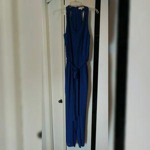 Umgee Beautiful Royal Blue Pantsuit Romper